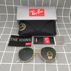 5fc34ebefc Ray-Ban Accessories - Round Metal Sunglasses